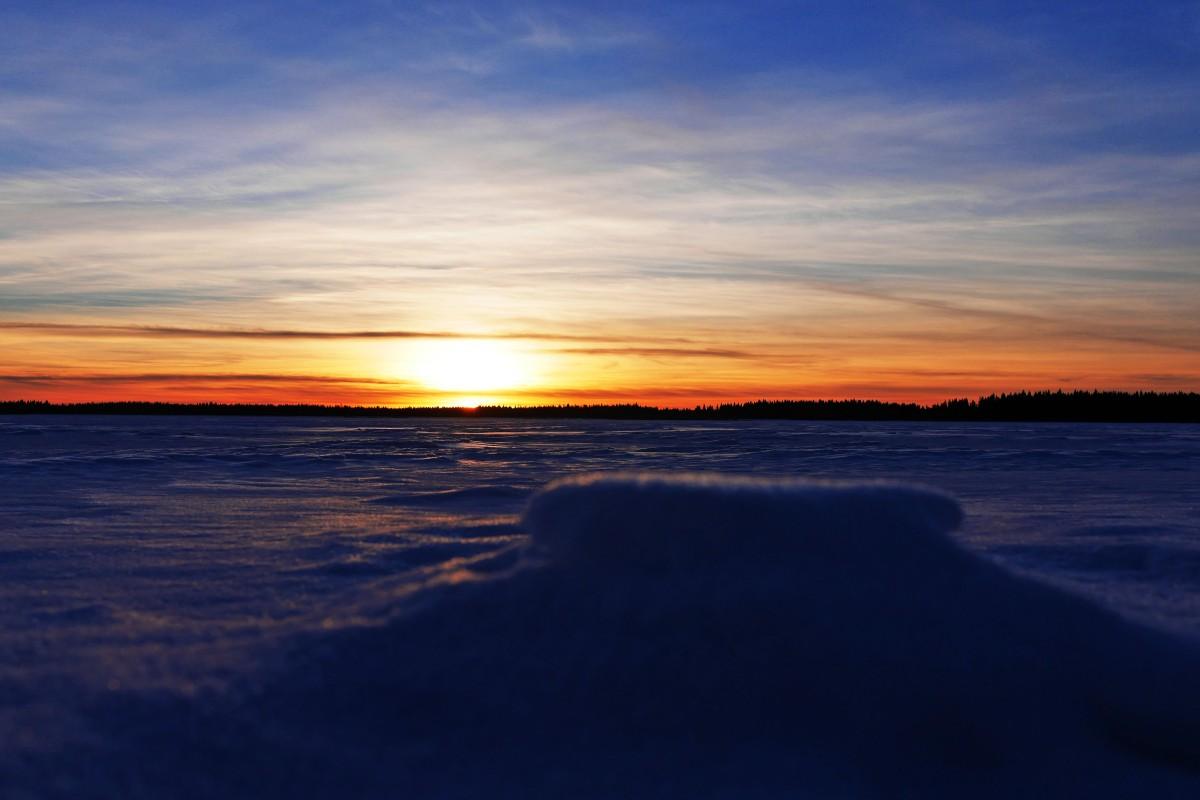 Auringonlasku Seinäjoki
