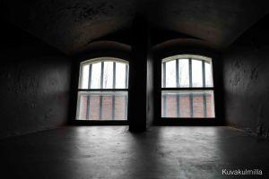 Katajanokan vanha vankila.