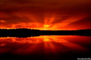 Midsummer sunset Tero Hintsa