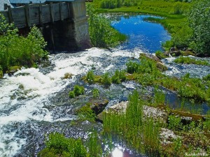 Kalmakurjenkoski waterfalls Helmeri Hintsa