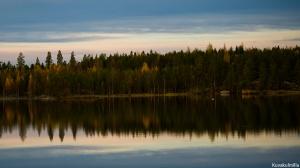 Ruska Kyrkösjärvellä Tero Hintsa