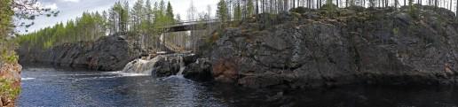 Kangasjoen putous Suomussalmi 7.5.2016
