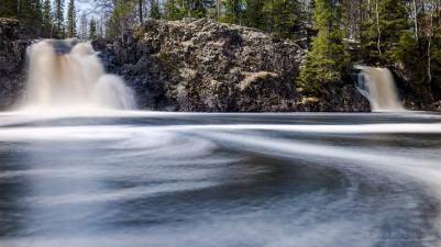 Komulanköngäs Hyrynsalmi vesiputous Tero Hintsa