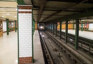 Andrássy út -bulevardin alla metroasemat ovat todella kauniita.